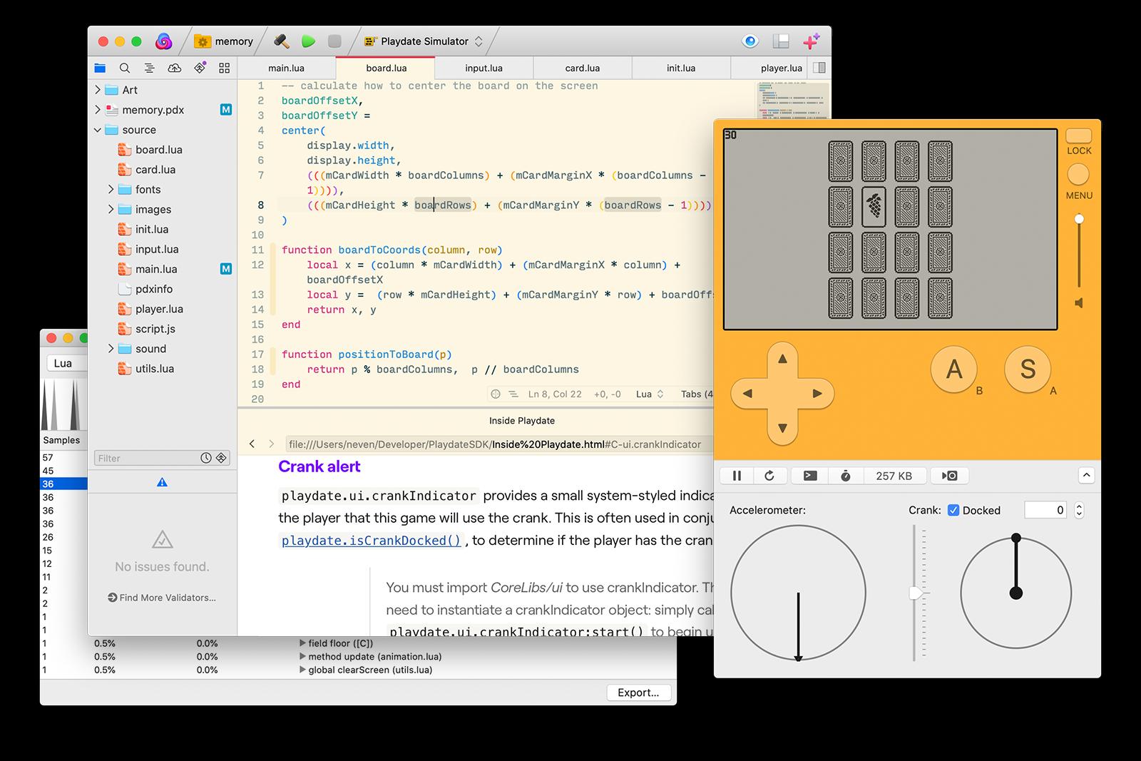 The Playdate software development kit